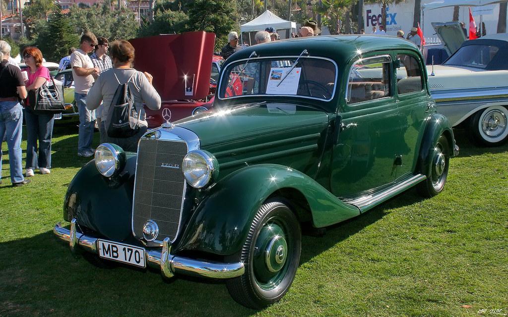 1953 mercedes benz 170d sedan green fvl la jolla for Mercedes benz la jolla
