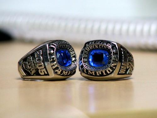 Track Championship Rings