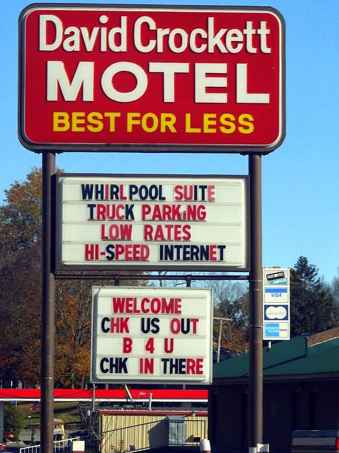 Davy Crockett Motel Lawrenceburg Tn