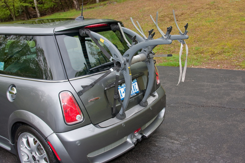 Mini Cooper Bike Rack | I already had the Saris Bones 3, so … | Flickr
