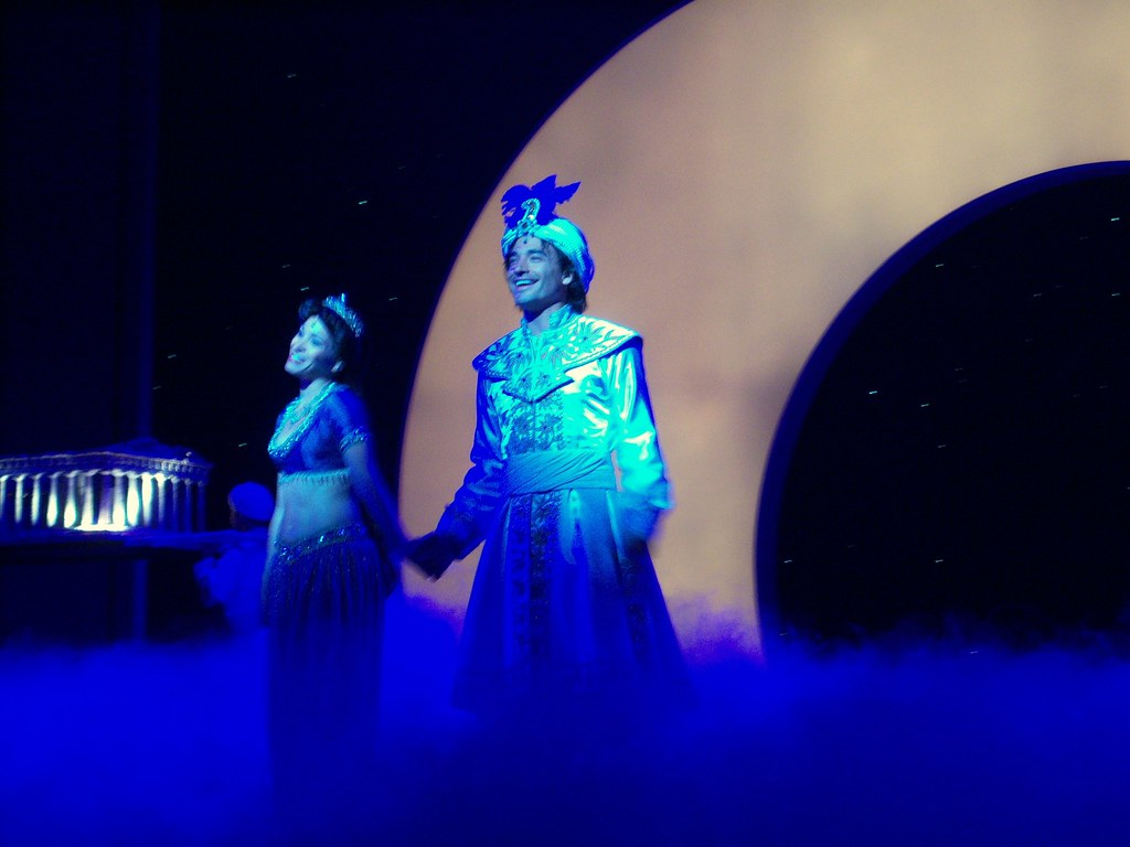 """A Whole New World"" scene in Aladdin, A Musical Spectacula ..."
