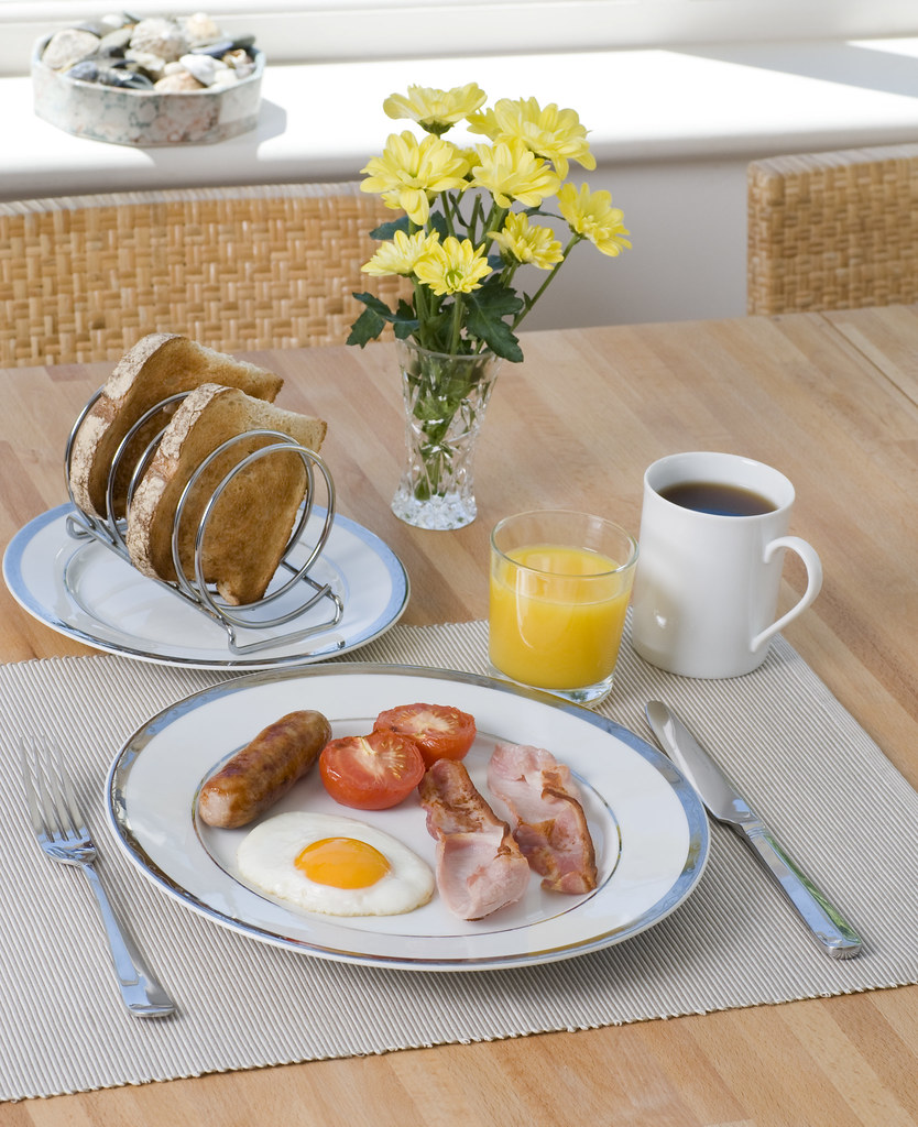 Breakfast Table Setting A Formal English Breakfast