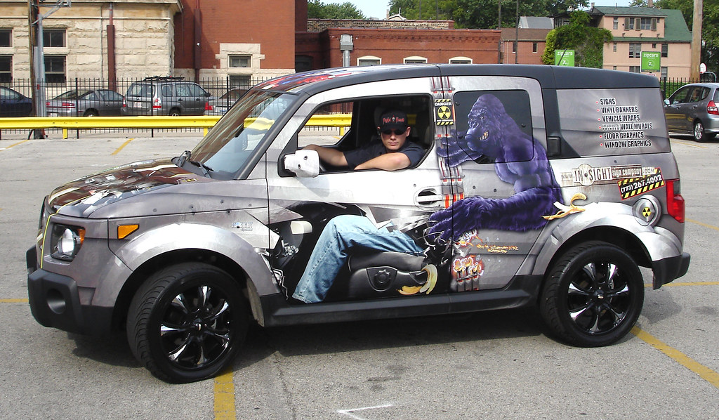 our first company car wrap chitown carwraps flickr. Black Bedroom Furniture Sets. Home Design Ideas