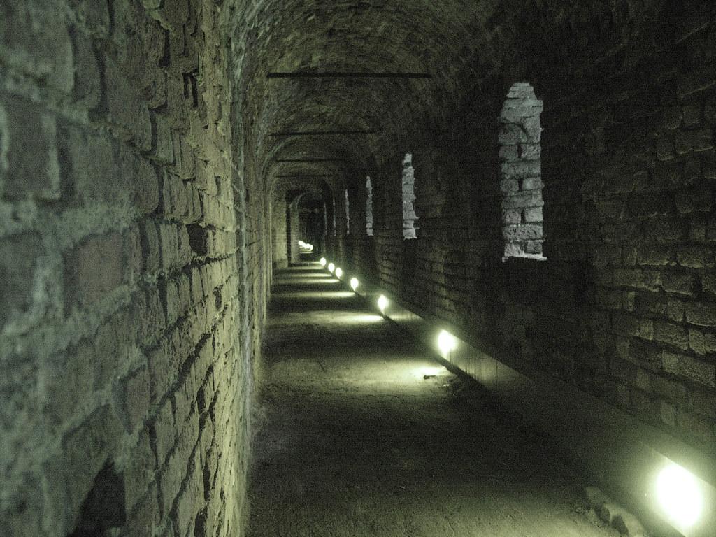 Le segrete del castello sforzesco la strada coperta della for Planimetrie della coperta