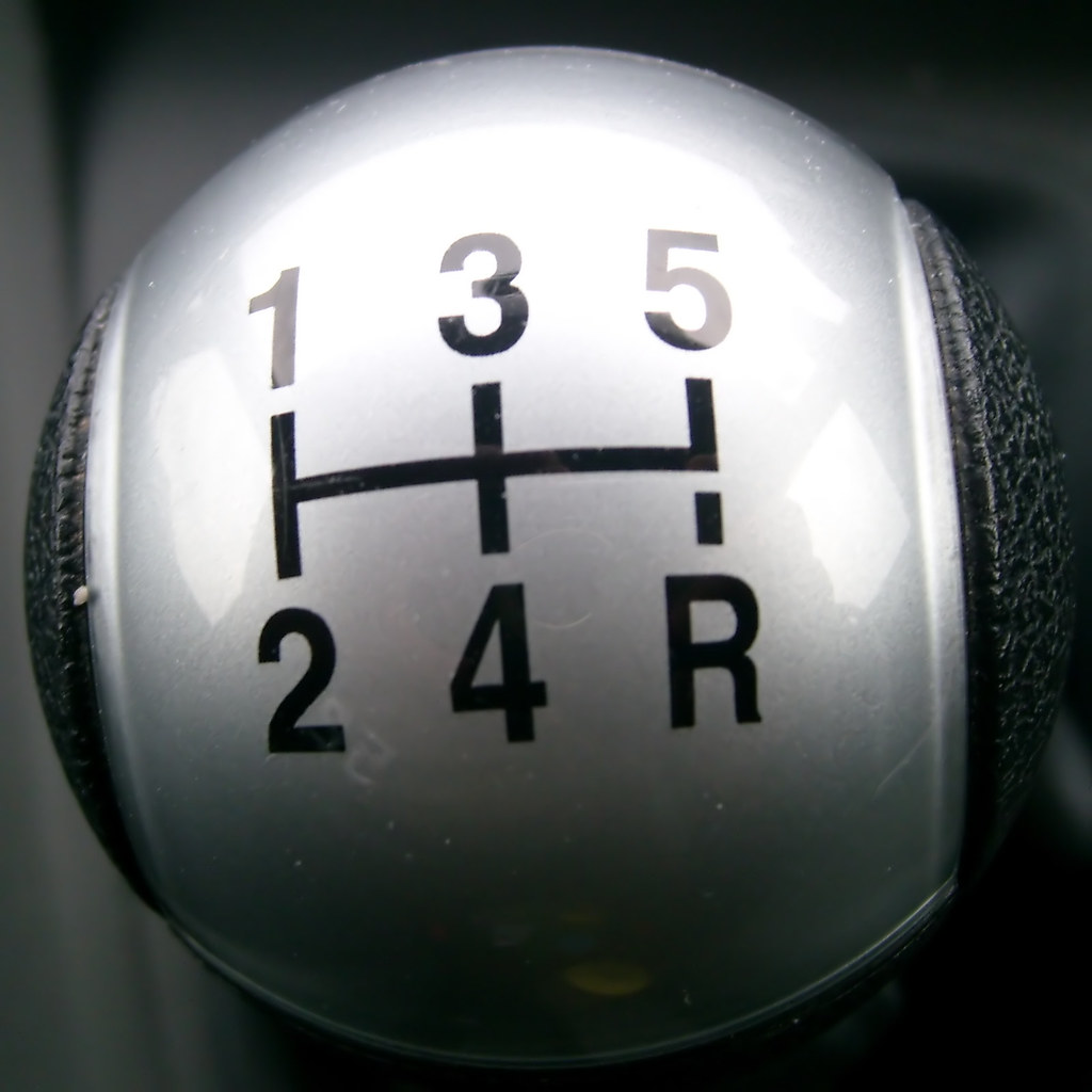 Ford C Max >> Gear stick | The gear stick from a Ford Focus C-Max. | ChrisDownUK | Flickr