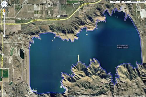 Diamond valley lake loop biggah read about this run for Diamond valley fishing report