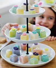 Pastel Petit Fours (Courtesy Family Fun Magazine 5/09) | by Contra Costa Times