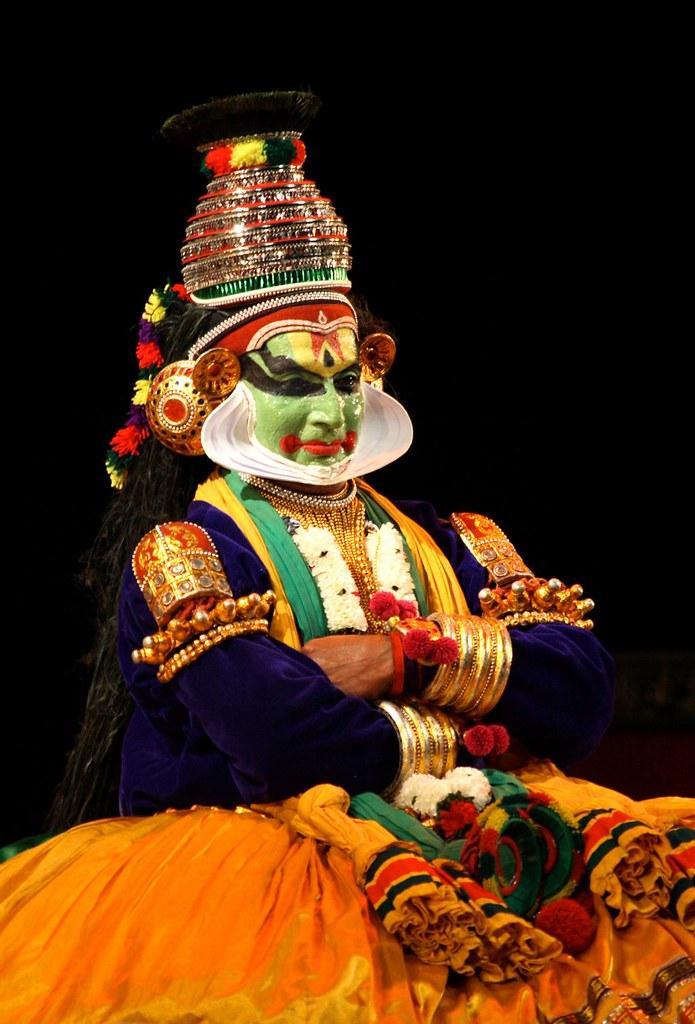 Kathakali Sri Krishna Sri Krishna Negotiating With