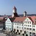Panoramabild von der Terasse der Galleria-Kaufhof