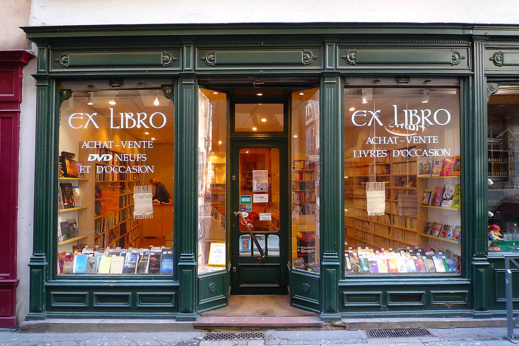 strasbourg librairie ex librio devanture ancienne en boi flickr. Black Bedroom Furniture Sets. Home Design Ideas