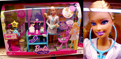 I Can Be Newborn Baby Doctor Barbie 174 Doll Playset Flickr