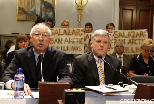 Getting the Arctic Drilling Message On Hill | by Greenpeace USA 2015