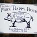 pork happy hour