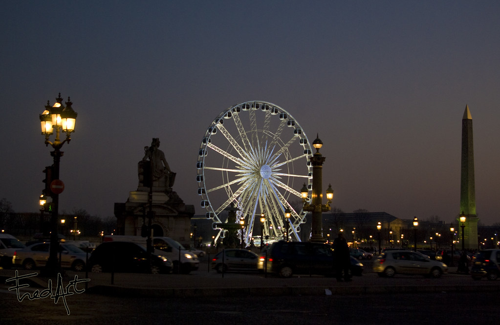 paris la grande roue de la concorde fredart flickr. Black Bedroom Furniture Sets. Home Design Ideas
