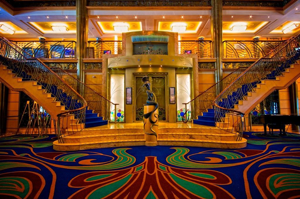 Disney Cruise Line - Disney Wonder - Main Lobby