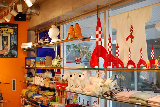Tintin shop, Harajuku, Tokyo  Robb S  Flickr