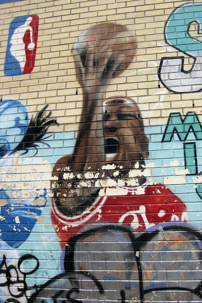 Free Cars Near Me >> NYC - LES: Sports Mural - Michael Jordan | A mural by Chico … | Flickr