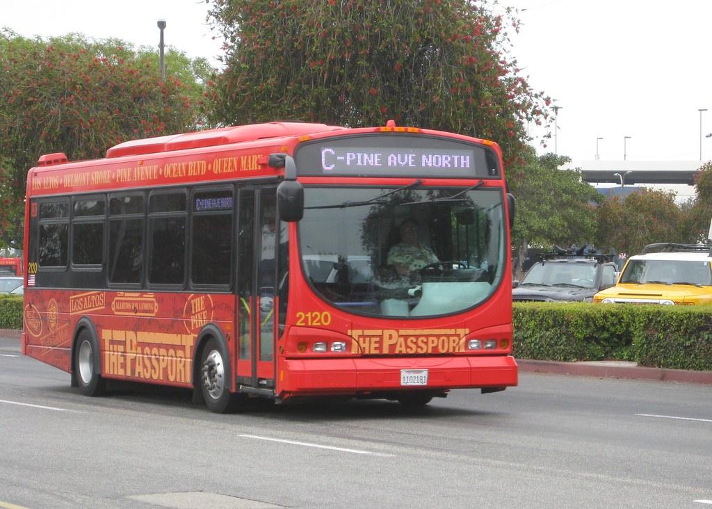 Long Beach Shuttle Bus Passport Long Beach