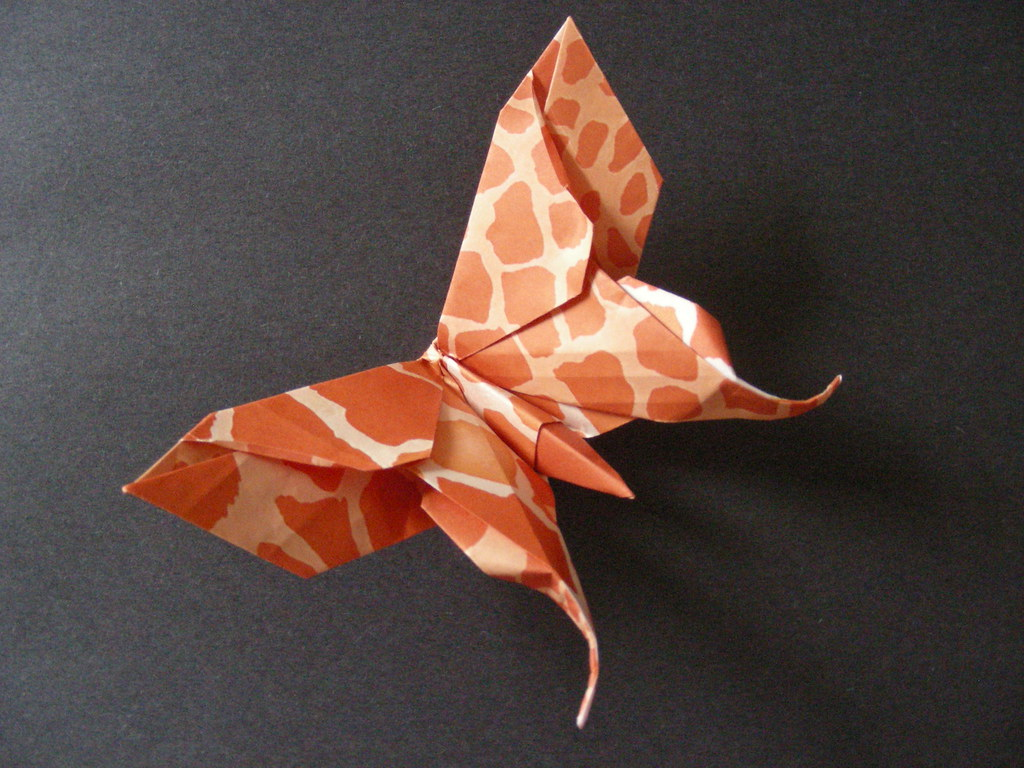 Swallowtail Butterfly (Design by Michael LaFosse) | Folded ... - photo#26