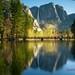 Yosemite Falls & Swinging Bridge - Yosemite National Park California