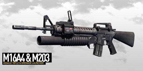 M16A4_M203 | Justin Ke...
