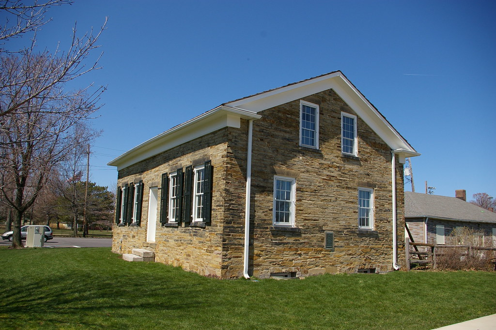 Oldest stone house lakewood ohio built circa 1838 by for Who invented houses