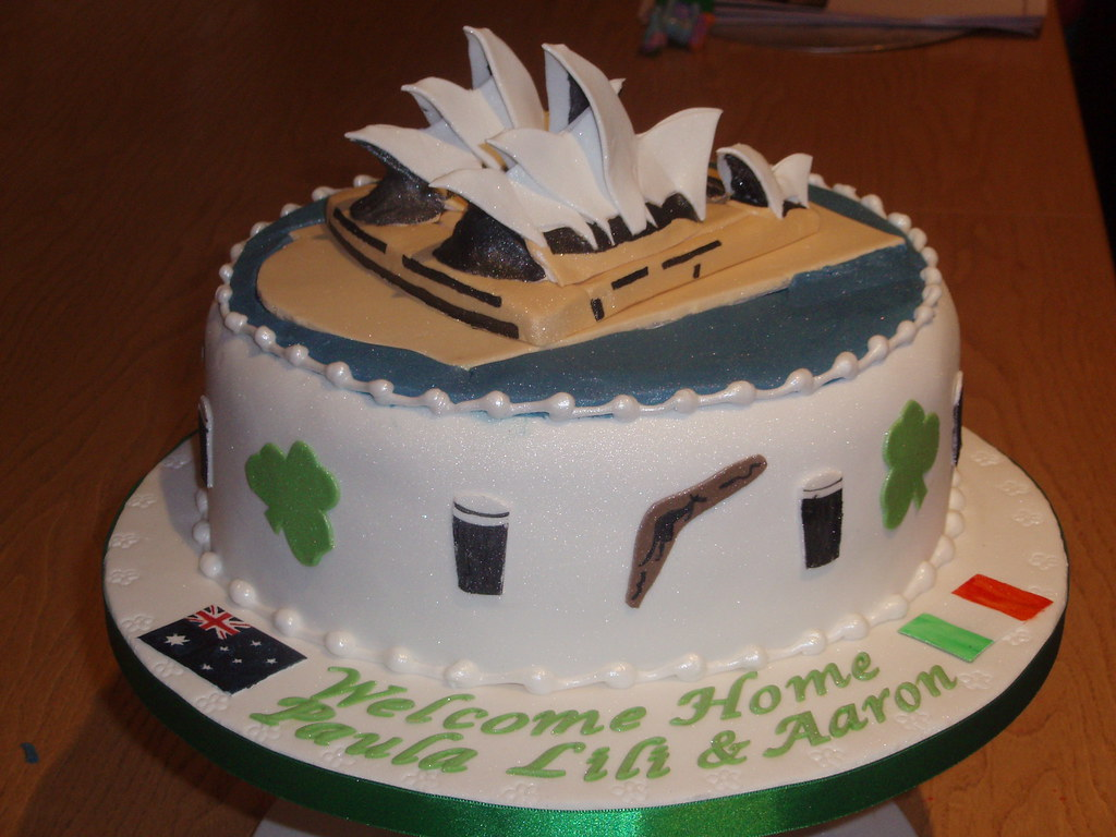 Sydney Opera House Cake With An Irish Connection This Is