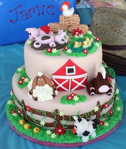 Farm Animal birthday cake #(2)  Flickr - Photo Sharing!