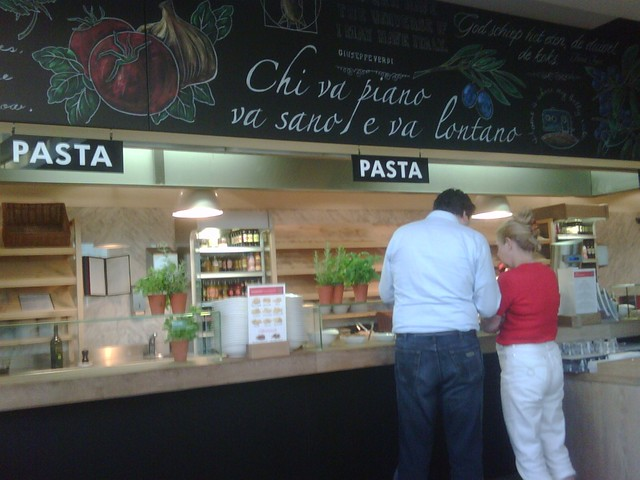 Mostradores de cocina en vapiano ver art culo en mi blog - Mostradores de cocina ...
