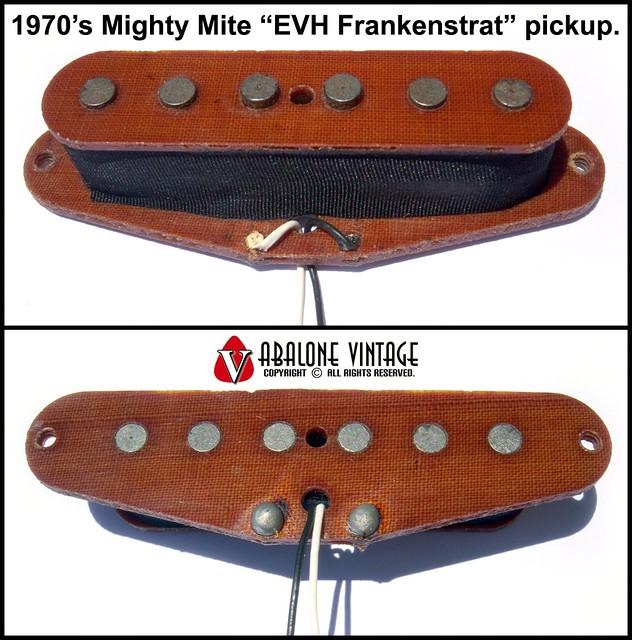 1970s Mighty Mite Evh Frankenstrat Pickup Vintage Edward Van Halen Neck Pu