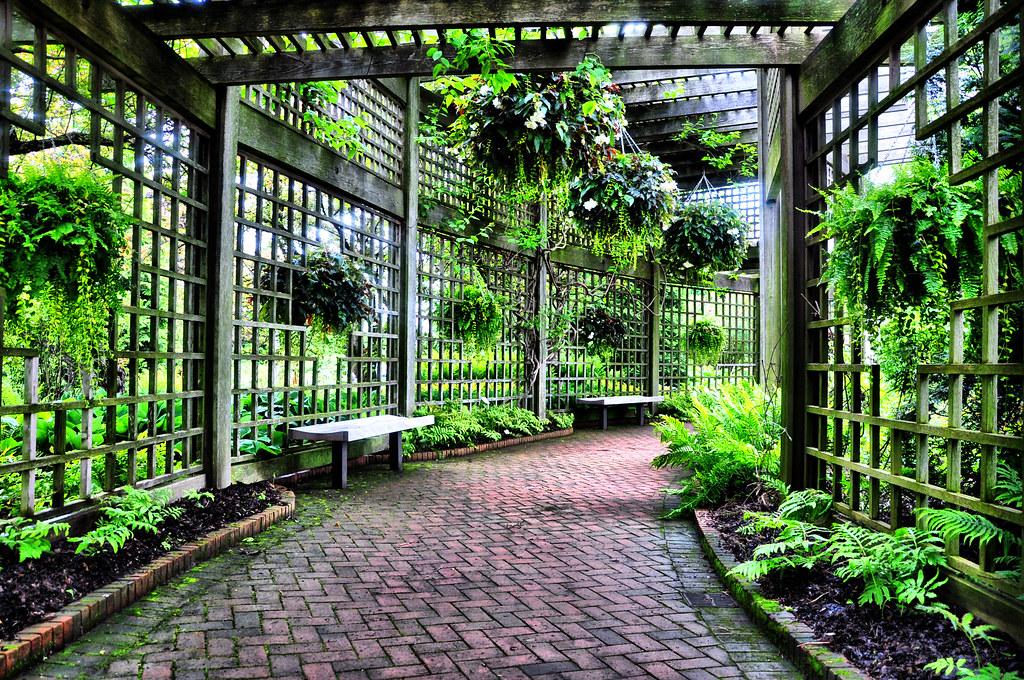 Botanic garden series rose garden trellis from our for Garden structures plans