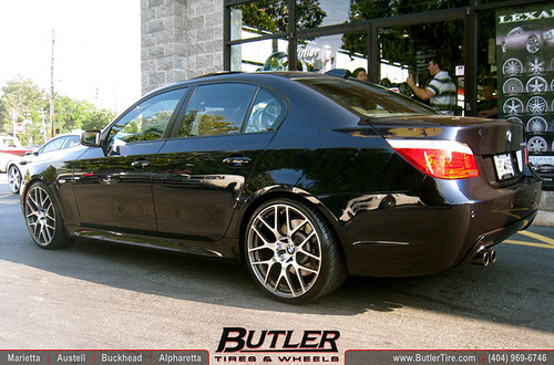 Bmw 5 Series With 20in Tsw Nurburgring Wheels Flickr