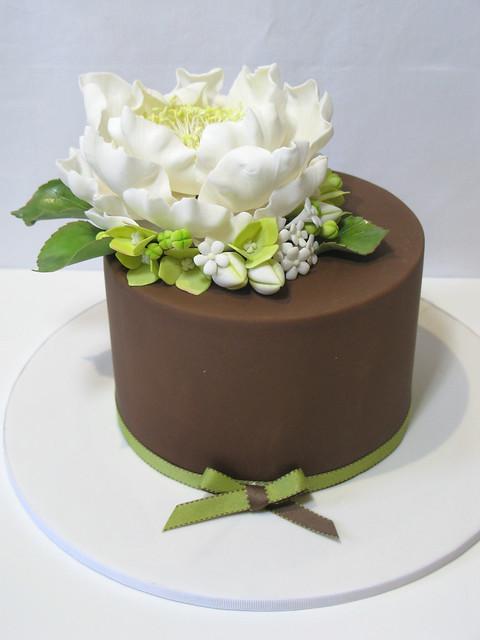 Peony Cake Flickr Photo Sharing