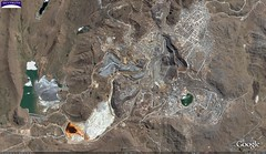 Cerro de Pasco Mine, Peru - Vertical Overview