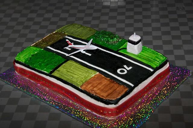 Airport Cake Cake For 70th Birthday Sheona Tucker Flickr