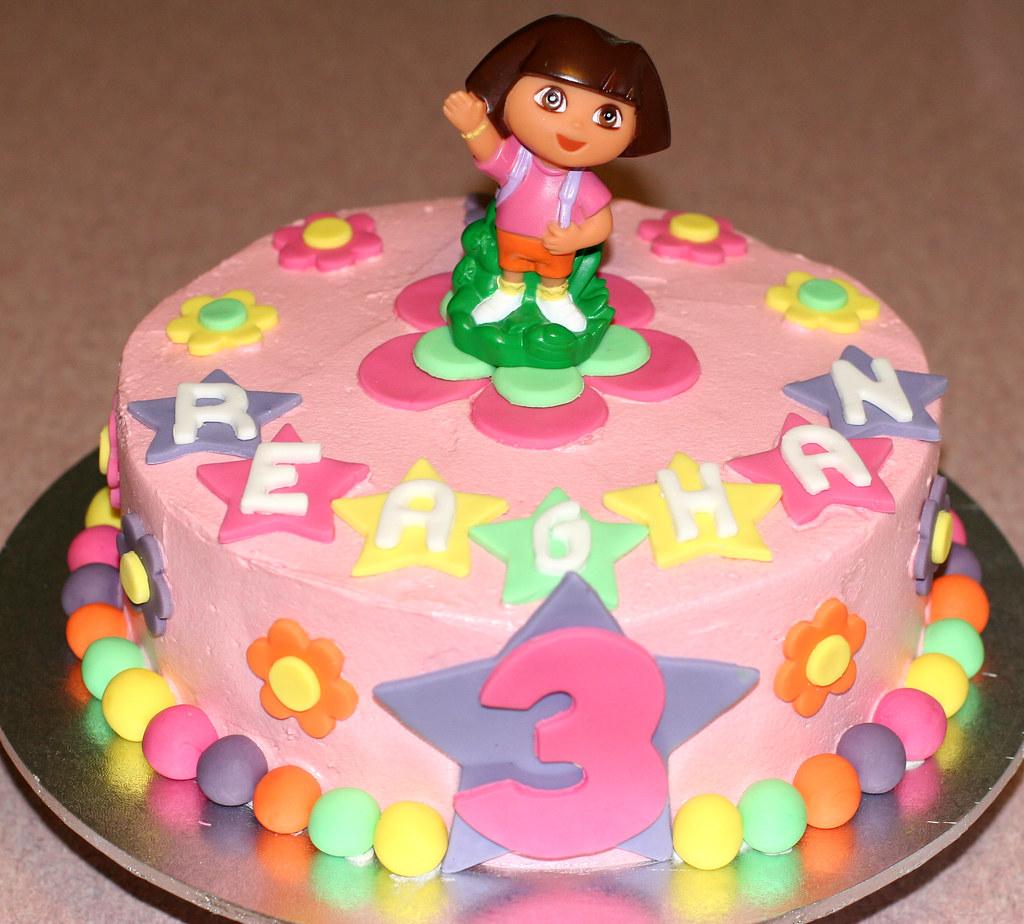 Dora The Explorer Cake Ideas