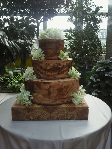 wedding cake wood reclaimed wood wedding cake tipsycake chicago flickr 26987