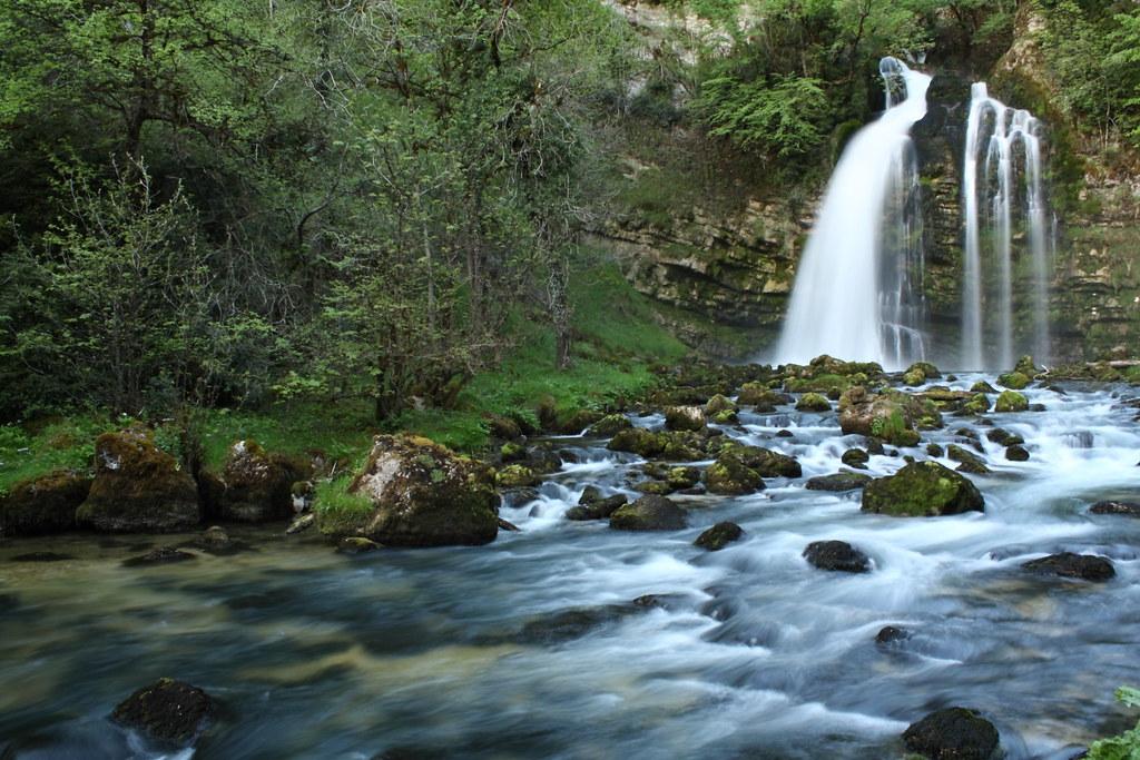 les gorges du flumen dans le parc naturel du haut