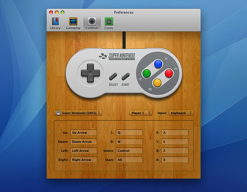 OpenEmu - Preferences - SNES Controls | by Mucx