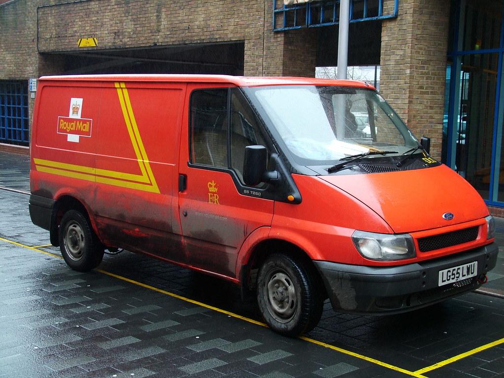 Transit Royal Mail Van Dartford Based Ford Transit Royal