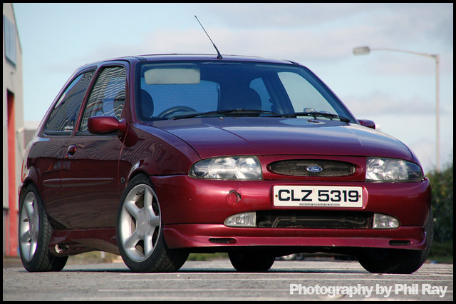 mk4 Ford Fiesta Belfast docks | this is another old ...