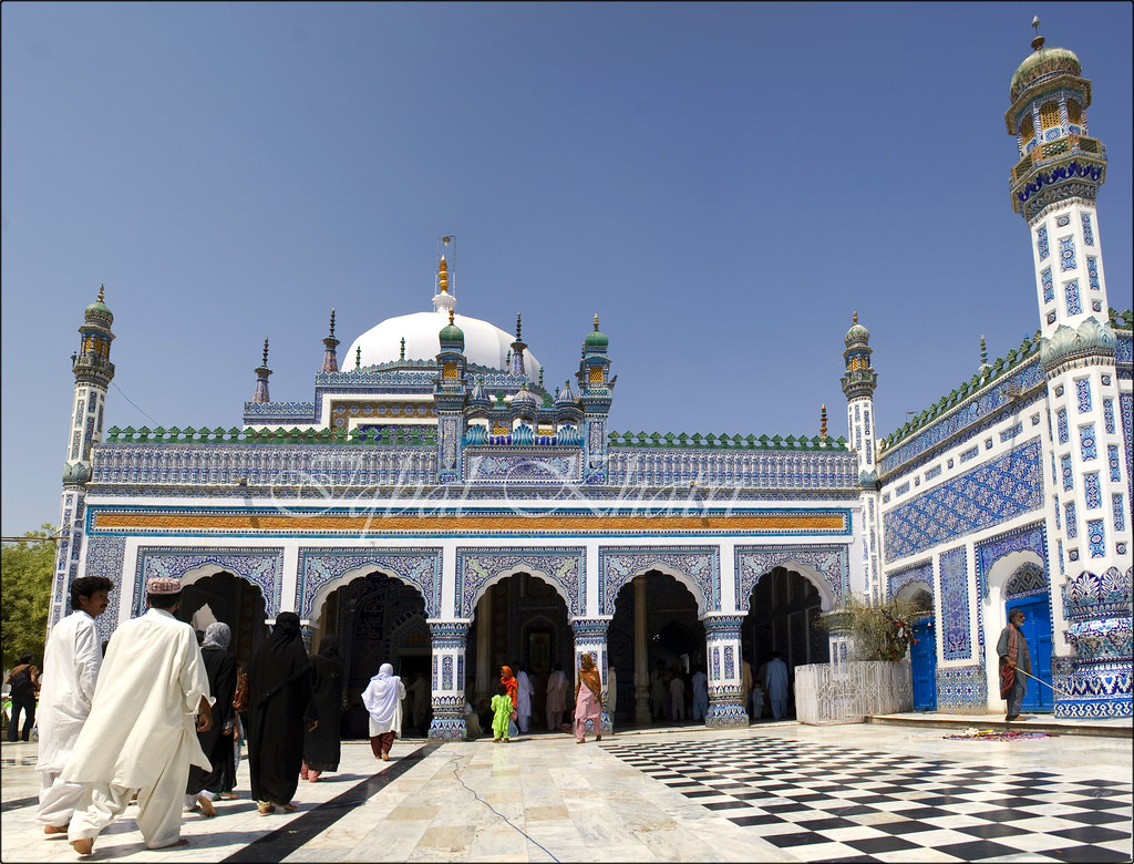 Shrine of Shah Abdul Latif Bhittai