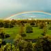 Under the rainbow, panorama