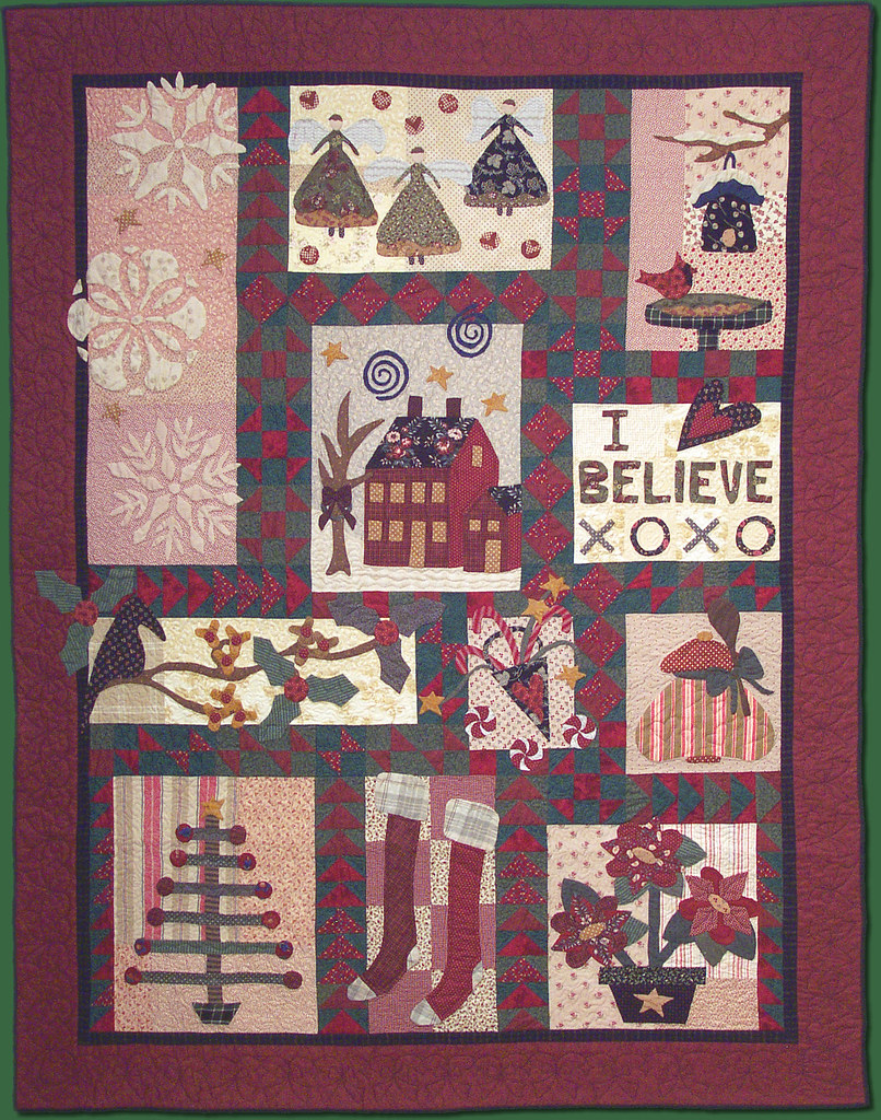 I Believe Pat Sloan Pat Sloan S Christmas Quilt Called I