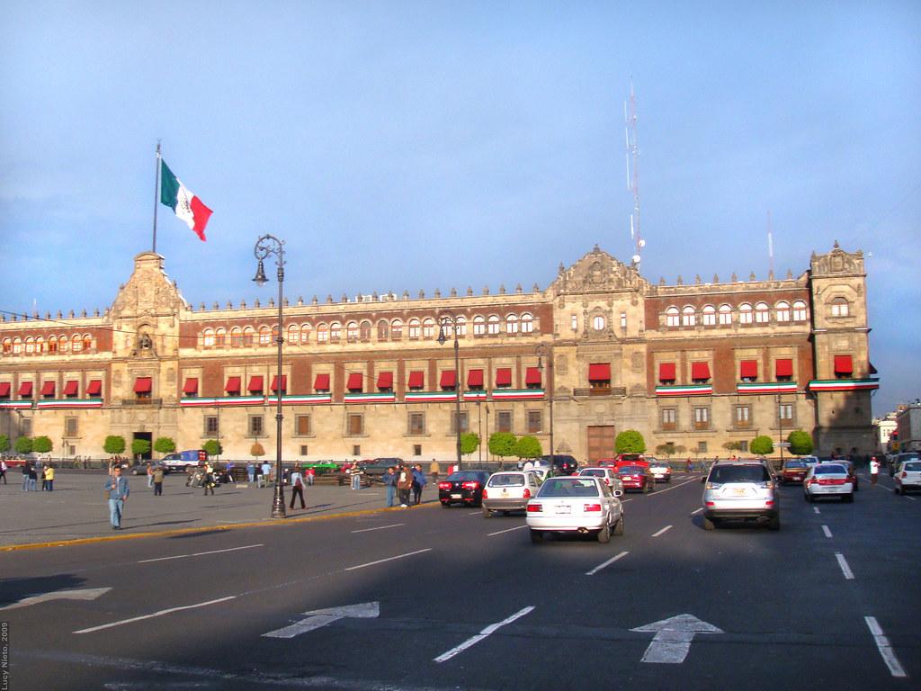Palacio de Gobierno - Zócalo DF México 2009 3453 | Lucy ...