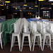 Haute Tabouret Tolix Marais Chairs @ The Standard Grill