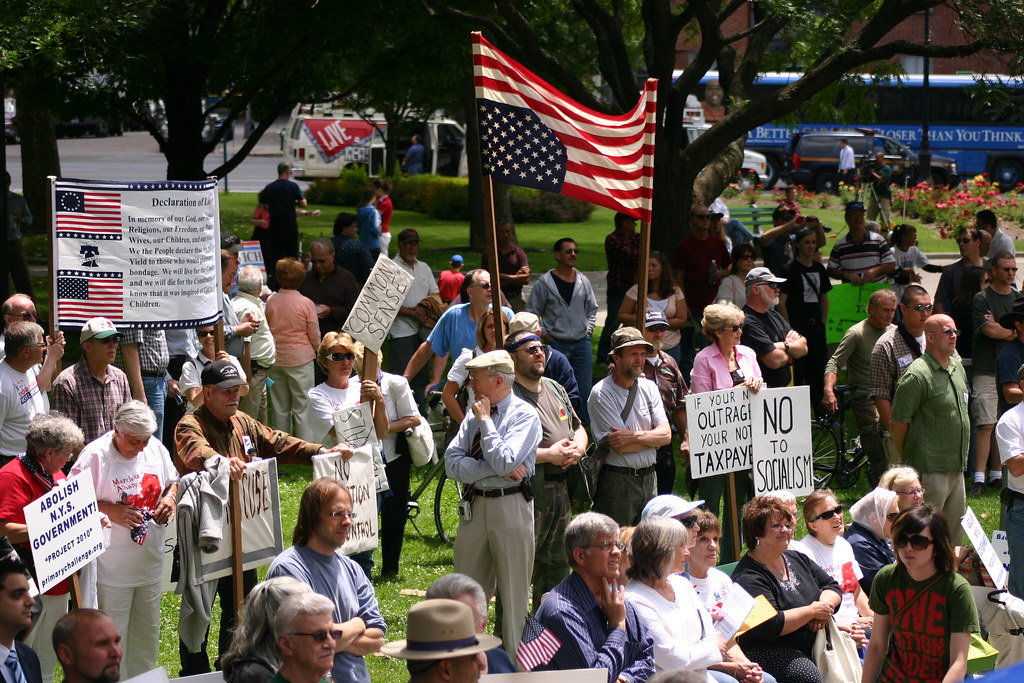 Tea Party Protest, Albany NY | Bennett V | Flickr