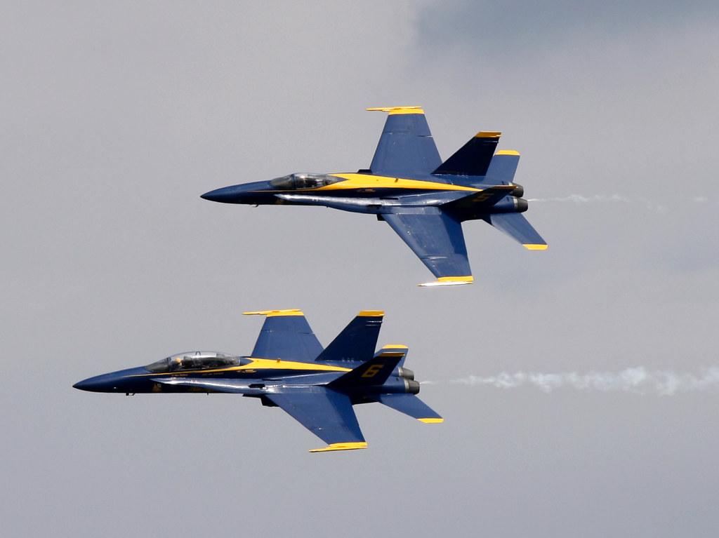 Blue Angels Il volo della Marina Militare degli Stati Uniti-8237