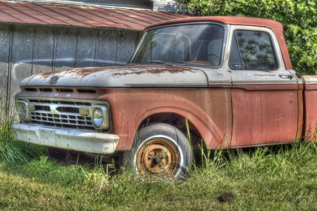 Rusty Old Ford Truck | HDR, Farm, Ford Truck | Randell ...