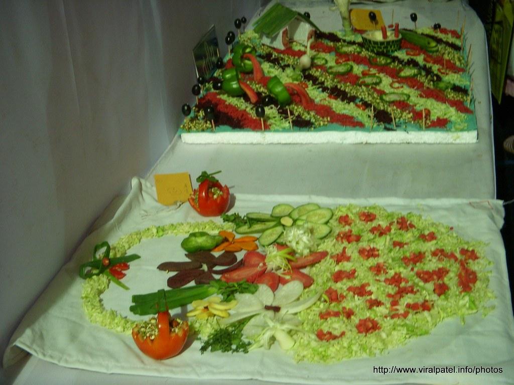 Salad decoration vir patel flickr for Decoration salade